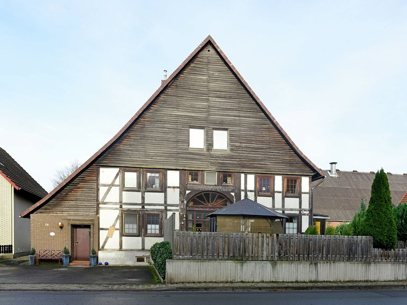 Modern holiday home in the Weser Uplands in a half-timbered house with PREMIUM-C, holiday rental in Bodenwerder