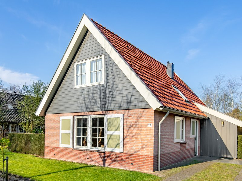 Detached holiday home with a dishwasher 2 km. from Appelscha, casa vacanza a Dieverbrug