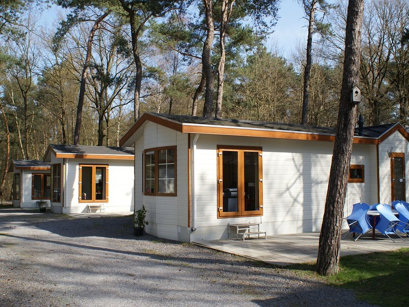 Well-furnished chalet located nearby the Oisterwijkse Vennen, holiday rental in Haghorst
