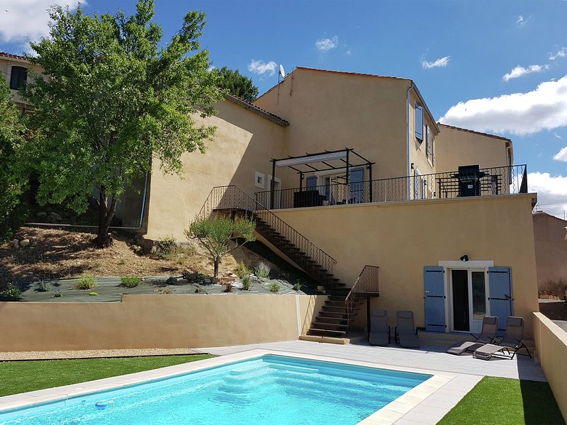 Luxurious Villa in Montouliers with Private Pool, holiday rental in Assignan