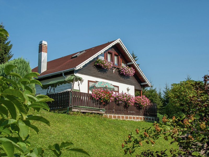 Serene holdiay home in Altenfeld Thuringia with private terrace and garden, location de vacances à Lauscha