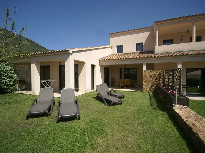 Modern Villa in Coggia with Balcony, holiday rental in Sagone
