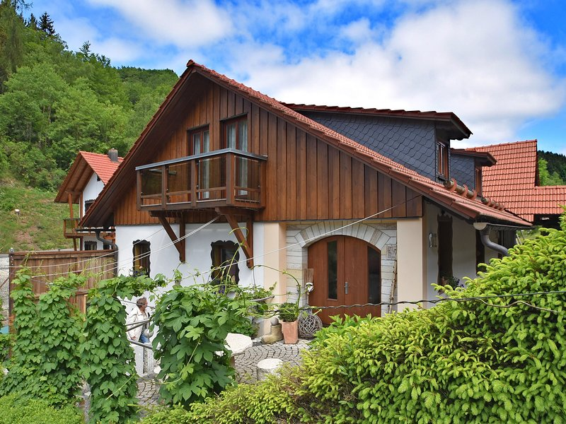 Quaint Farmhouse in Langenbach near the Lake, holiday rental in Schleusegrund