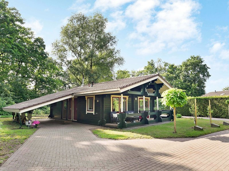Finnish chalet with private garden and wood-fired sauna near the Veluwe, holiday rental in Vierhouten