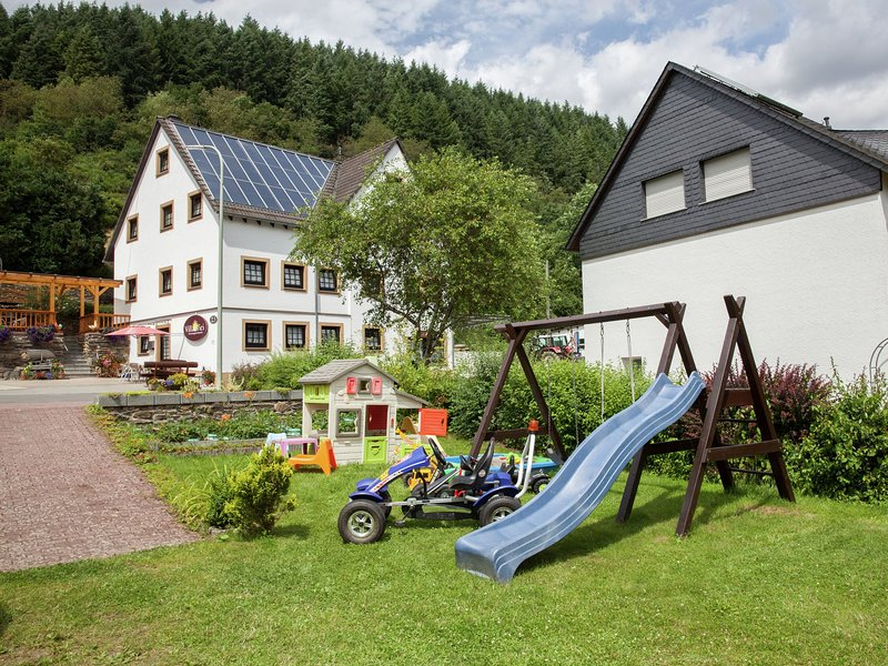 Modern Apartment in Merschbach Hunsruck with garden, vacation rental in Kowerich
