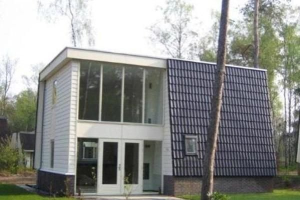 Modern villa with deco fireplace and dishwasher in De Veluwe, holiday rental in Otterlo