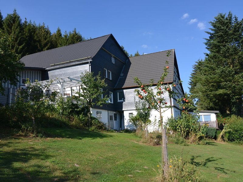 Budget Apartment in Sauerland with private terrace – semesterbostad i Lennestadt
