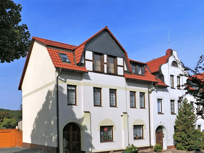 Comfortably furnished apartment in the wild and romantic Bode valley in the Harz, holiday rental in Neinstedt