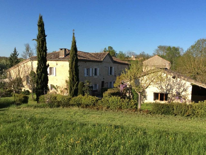 Gite Le Mauzac in 250 year old wine, holiday rental in Rivieres