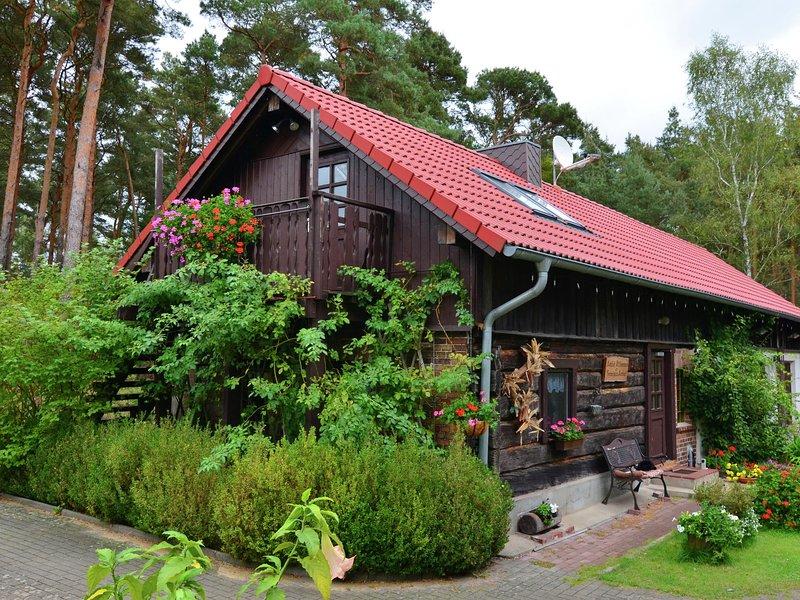 Luxury Cottage inSchmogrow-Fehrow Brandenburg near Lake, location de vacances à Cottbus
