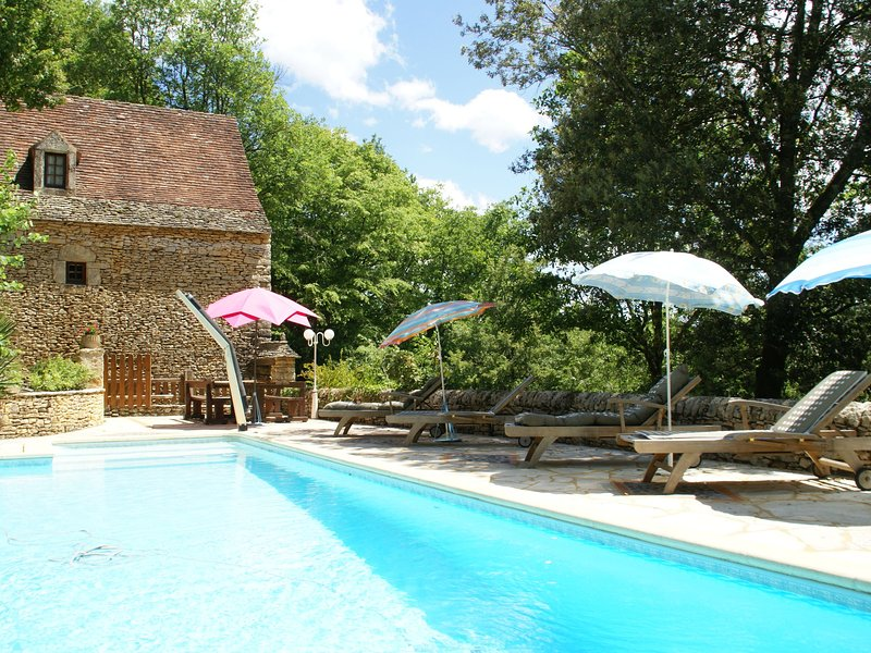 Lovely Périgord holiday home in private forest in stunning surroundings of Bess, alquiler vacacional en Villefranche-du-Perigord
