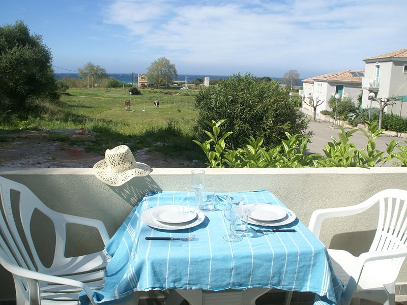 Quiet Apartment in Aregno by the Sea, vacation rental in Algajola
