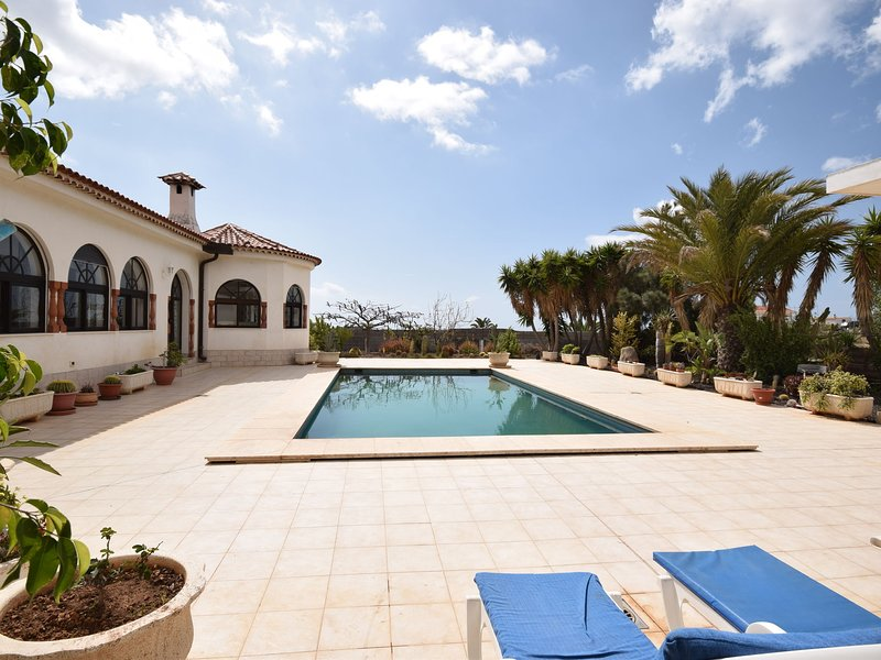 Beautiful villa in the south of Tenerife with a delightful terrace and pool, alquiler vacacional en San Isidro