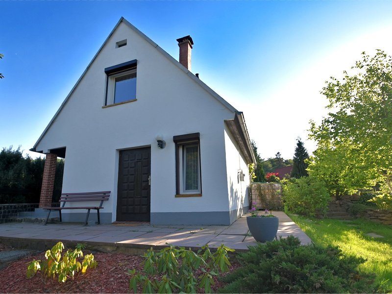 Modern Holiday Home in Güntersberge with Fish Pond, vacation rental in Allrode