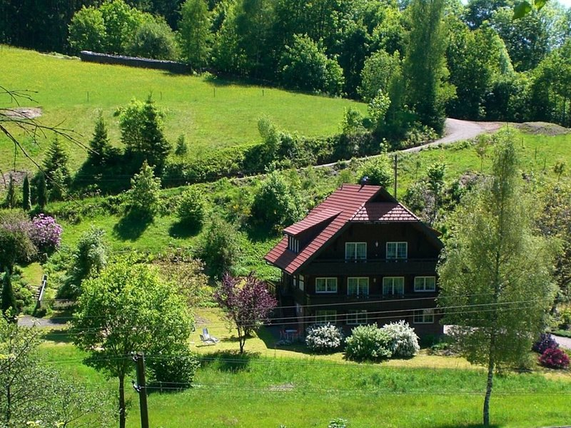 Cozy Apartment in Bad Rippoldsau-Schapbach with a view, location de vacances à Lossburg