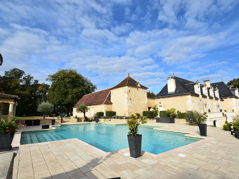 Luxury Villa in Aquitaine by the Lake, holiday rental in Pressignac-Vicq
