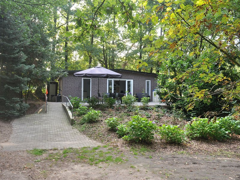Charming 4-person holiday home on the edge of Leenderstrijp in the forest, alquiler de vacaciones en Eindhoven