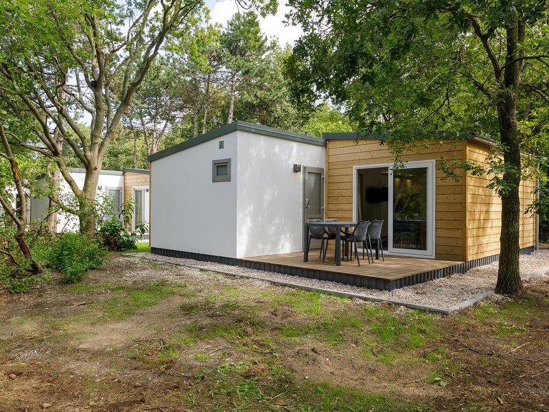Modern and luxurious chalet with dishwasher near the beach, holiday rental in Poeldijk