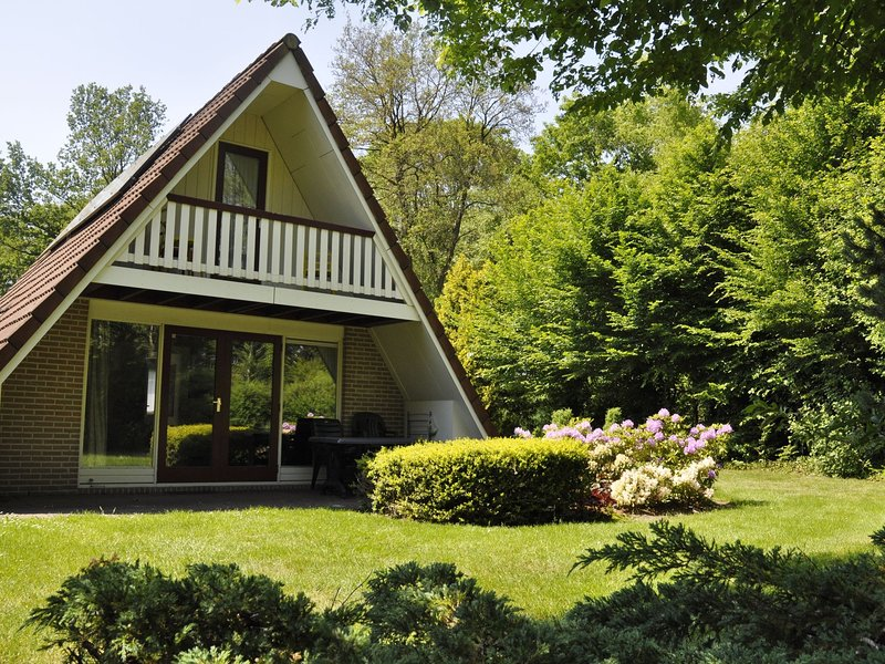 Detached holiday home with dishwasher, 16 km. from Assen, vacation rental in Zwiggelte