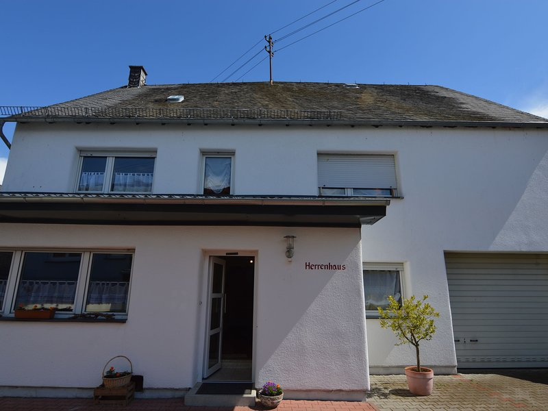 Comfortable house with a large fenced garden in beautiful Hünruck, location de vacances à Burgen