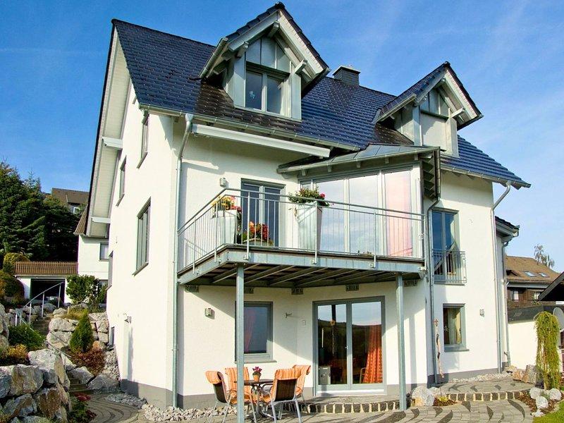 Charming Apartment near Düdinghausen with terrace, location de vacances à Korbach