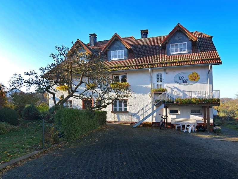 Modern apartment on a farm with lots of animals near Brilon, vacation rental in Marsberg