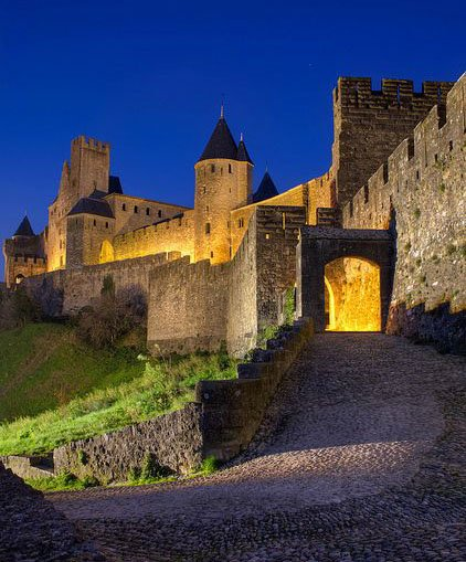 Carcassonne medieval walled city around 30 minutes from Narbonne