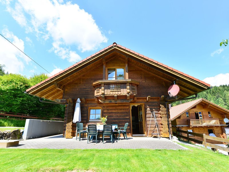 Luxurious wooden house in the Bavarian Forest near the Arber with ridges and ter, holiday rental in Frauenau