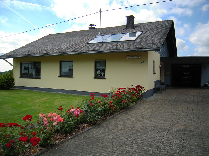 Peacefully situated house in natural environment, holiday rental in Bollenbach