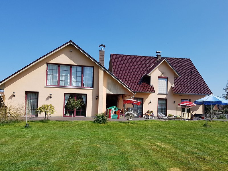Loving Holiday Home with Swimming Pool in Moor-Rolofshagen, holiday rental in Reppenhagen