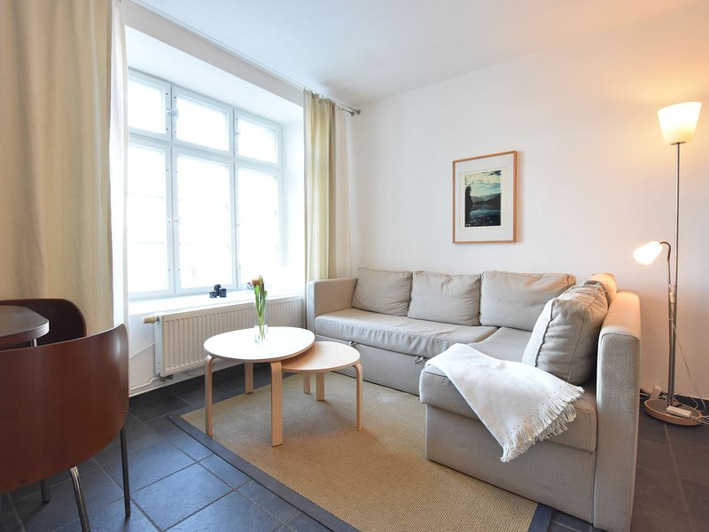 Modern Apartment with Garden near the Sea in Wismar, holiday rental in Dorf Mecklenburg
