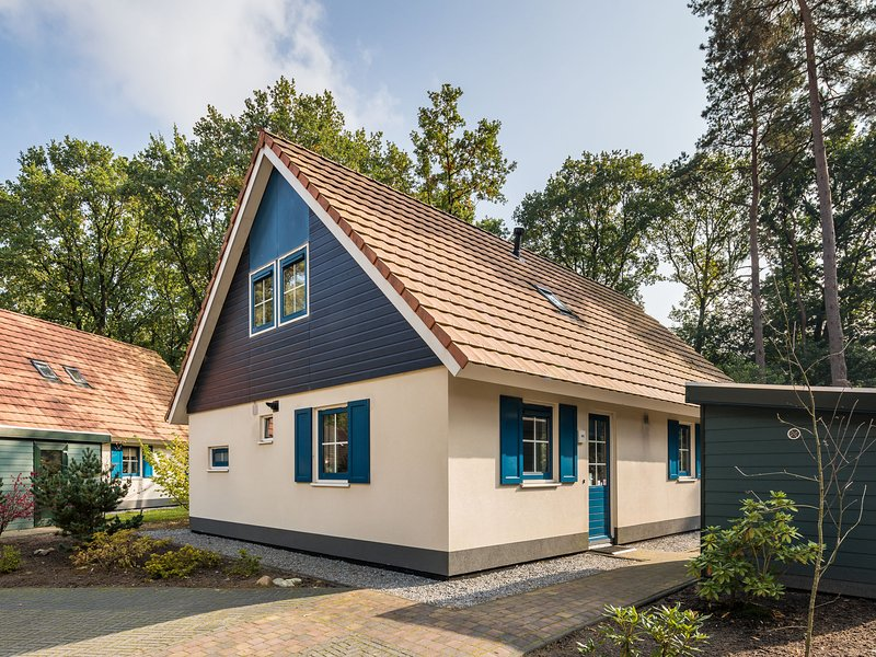 Comfortable holiday home with dishwasher in a nature reserve, vacation rental in Zwiggelte