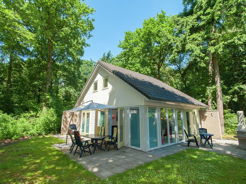 Superb villa in the woods of Gaasterland with WiFi and fireplace, holiday rental in Warns