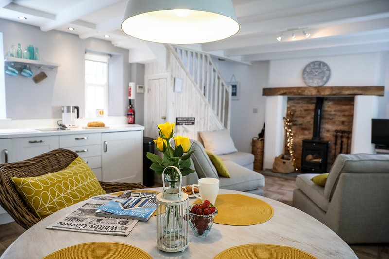 Driftwood Cottage with sea views., vacation rental in Staithes