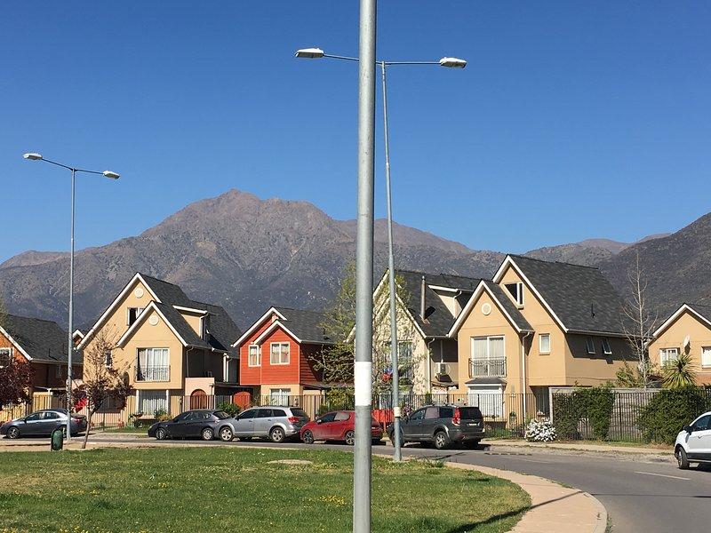 Montañas en Santiago  - Habitación Single 2 en Casa Condominio-Cajón del Maipo, location de vacances à San Jose de Maipo