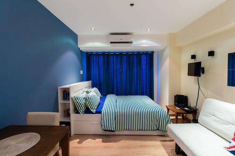 Deluxe Condo Knightsbridge Residences Makati Metro Manila, casa vacanza a Makati