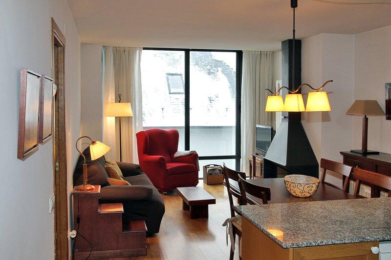 Vielha apartamento 2 habitaciones FU, alquiler vacacional en Las Bordas