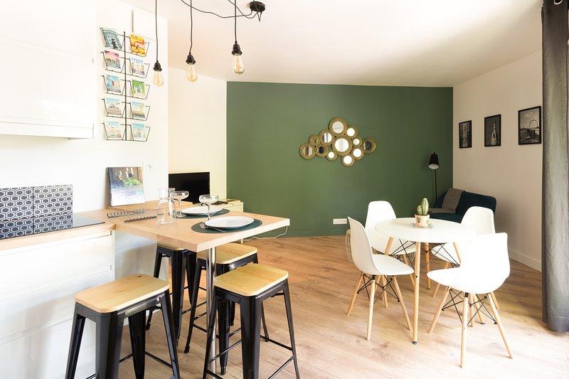 L'Instant Nantais - Agréable 2 pièces confortable et central avec parking, vakantiewoning in Sautron
