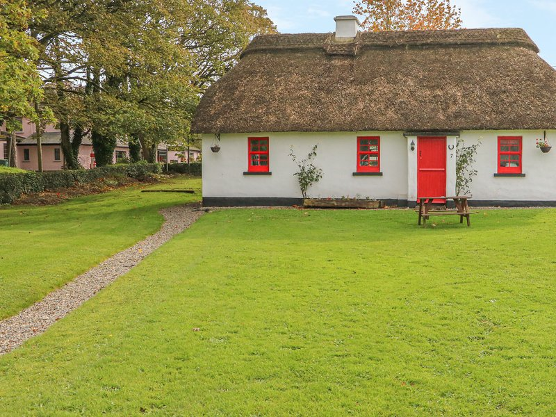 NO. 9 TIPPERARY THATCHED COTTAGES, semi-detached, open fire, character, vacation rental in Garrykennedy