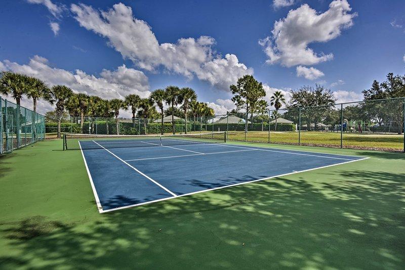 Questa proprietà è perfetta per gli amanti del tennis!