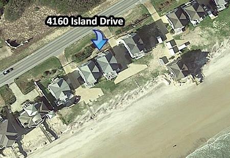 4160 Island Drive Vista aérea