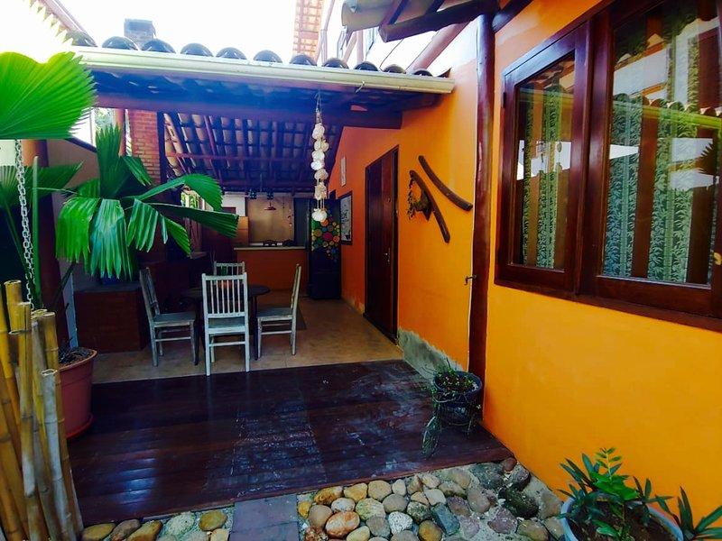 Casa Pau Brasil- Espaço, conforto e tranquilidade – semesterbostad i Paraty