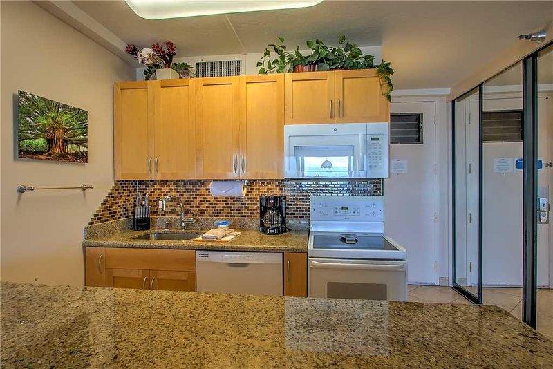 Interior, Habitación, Cocina, Horno, Microondas