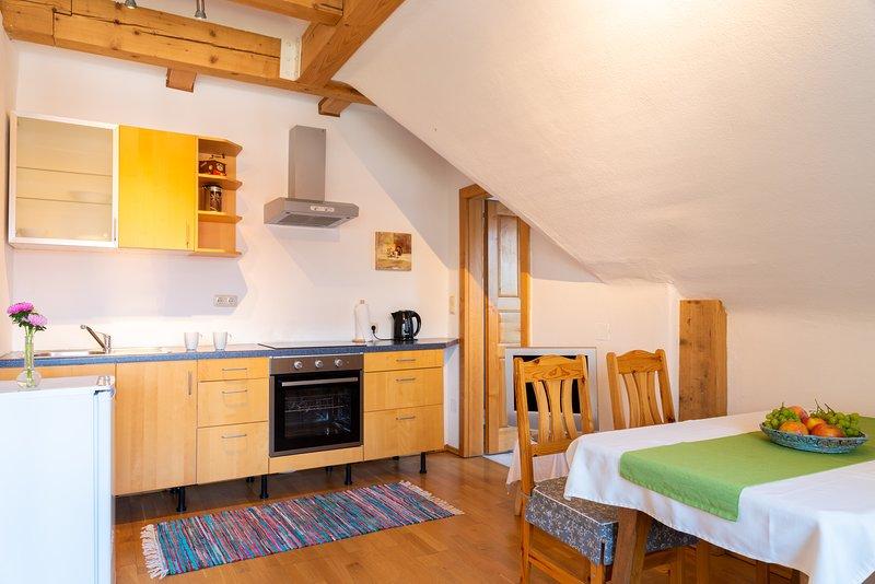 Apartmentwohnung 6 im Haus Ebner, location de vacances à Hirschegg Rein