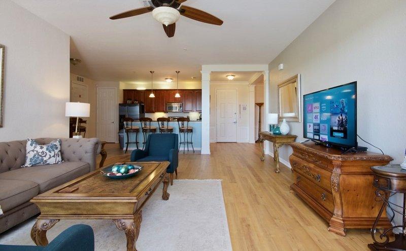 Ventilador de teto, móveis, cadeira, dentro de casa, tela