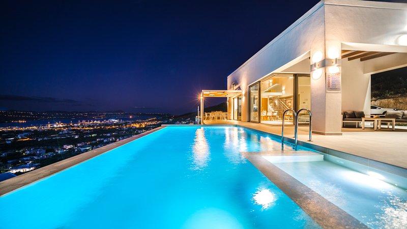 Con Vista Villa, location de vacances à Malaxa