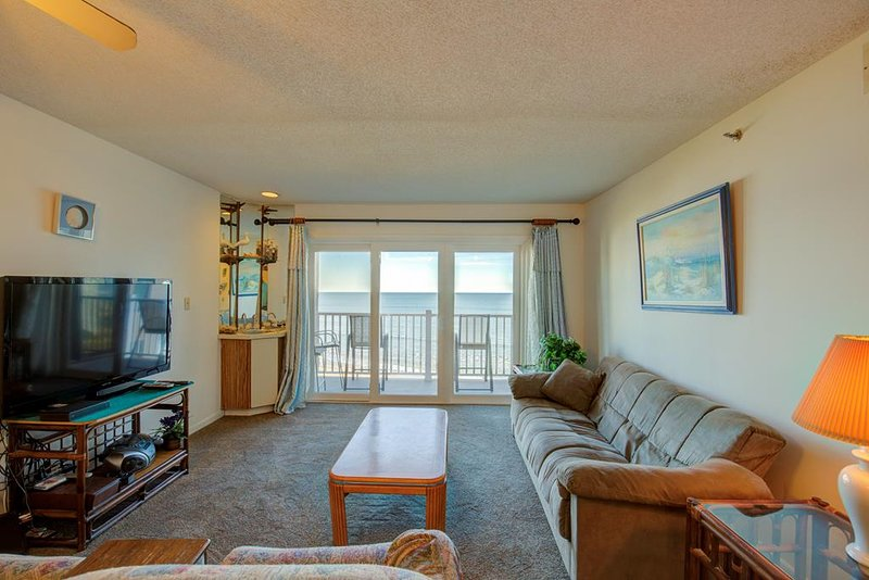 Topsail Dunes 3308 Oceanfront! | Community Pool, Tennis Courts, Grill Area, Elev, vacation rental in North Topsail Beach