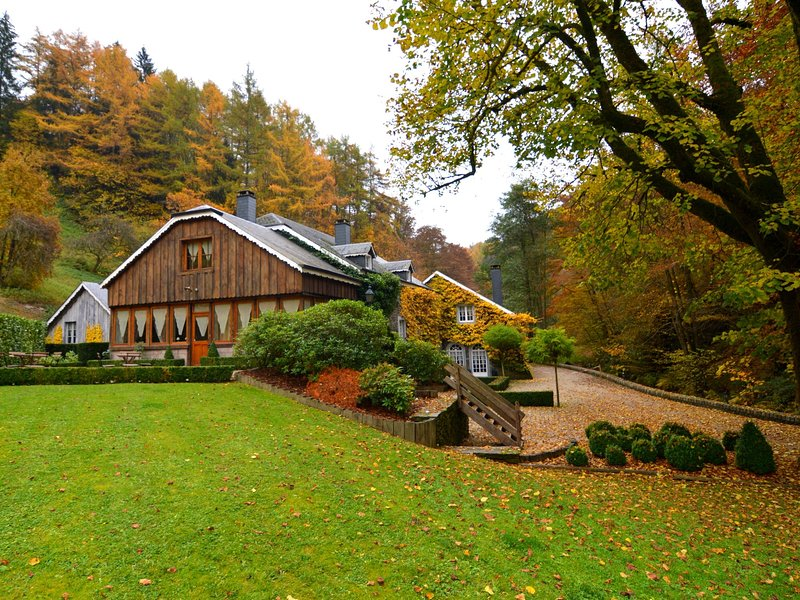 Luxury Mill in Vresse-sur-Semois with Indoor Pool, holiday rental in Alle