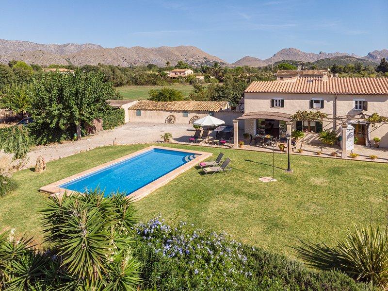 Villa Can Jaume, alquiler de vacaciones en Pollença