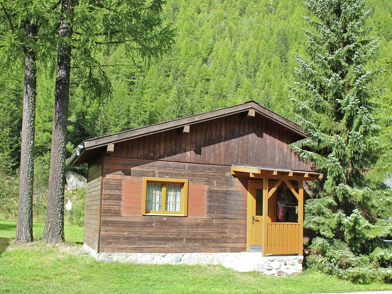 Cosy Chalet In Meiggerli With Garden, holiday rental in Saas-Fee
